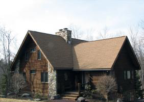 Poconos Log Home For Sale
